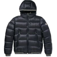 MonclerJeanbart Quilted Shell Hooded Down Jacket - Navy