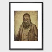 Monde MosaicChancellor Chewie Art Print