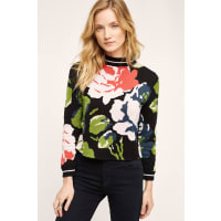 MonogramLaine Floral Pullover
