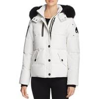 Moose KnucklesFox Fur Trim Down Jacket