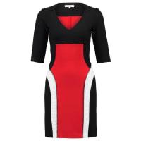 MorganRERA Jerseyjurk noir/rouge/ecru