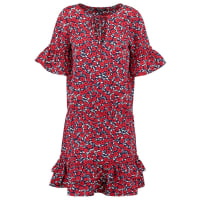 MorganROSY Korte jurk marine/rouge