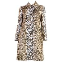 Moschino1990s Moschino Faux Leopard Coat