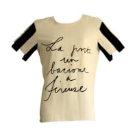 MoschinoCouture cruise Me Baby Vintage Jailhouse Rock Blouse