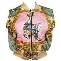 MoschinoEarly 1990s Moschino Jeans Duck Print Gilet