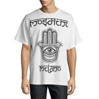 MoschinoHamsa Logo T-Shirt, White