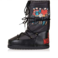 MoschinoLOVE MOSCHINO Printed Rain/Snow Boots Herbst/Winter