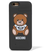MoschinoSilicone Iphone 6 Charging Case - Black