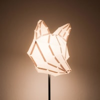 mostlikelyDesignFOX MEDIUM / do it yourself paper lamp shade