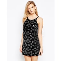 MotelGaia Dress With Star Sequin Detail - Black
