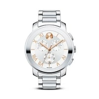 MovadoLuxe Chronograph Stainless Steel Watch, 40mm