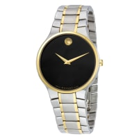 MovadoSerio Stainless Steel Watch, 38mm