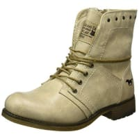 MustangDamen 1139-610 Kurzschaft Stiefel, Elfenbein (243 Ivory), 39 EU