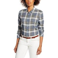 MustangDamen Bluse Basic Check Blouse