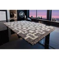 My HomeRechthoekig hoogpolig tapijt MY HOME