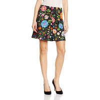 NafnafEpreppy, Falda para Mujer, Multicolore (Imprime), 36