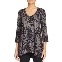 Nally & MillieAbstract Print Asymmetric Tunic - 100% Bloomingdales Exclusive