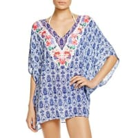 Nanette LeporeIn the Tropics Printed Caftan Swim Cover-Up - 100% Bloomingdales Exclusive