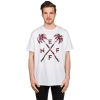 NeffCrossed Palms T-Shirt white / bianco