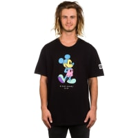 NeffPastel Mickey T-Shirt black / nero