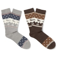 NeighborhoodTwo-pack Wool Socks - Grau