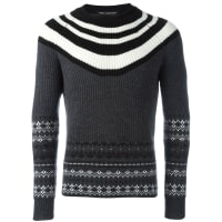 Neil BarrettGrewy Wool Jumper