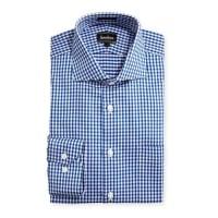 Neiman MarcusClassic-Fit Regular-Finish Check-Print Dress Shirt, Blue