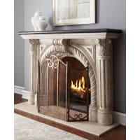 Neiman MarcusRope-Edge Fireplace Mantel
