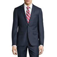 Neiman MarcusSlim-Fit Two-Piece Suit, Navy Nailhead