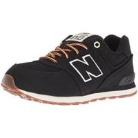 New Balance574, Zapatillas Infantil, Negro (Black), 31 EU