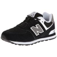 New BalanceKL574SKP-574, Zapatillas Altas Infantil, Negro (Black 001), 35 EU