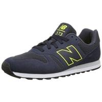 New BalanceMD_WD373V1, Herren Sneakers, Blau (Blue/Yellow), 40.5 EU (7 Herren UK)