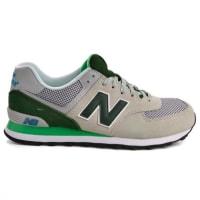 New BalanceTênis New Balance ML574UTC - Cinza/Verde