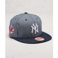 New Era9 Fifty Pinstripe Strap Yankees Navy/Optic White