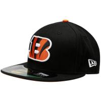 New EraBoné New Era NFL 5950 Evergreen Cincinnati Bengals TC - Masculino