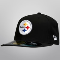 New EraGorra New Era 5950 NFL Pittsburgh Steelers On Field Game