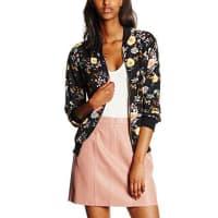 New LookDamen Jacke Leah Floral Bomber