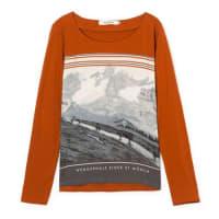 Nice ThingsBlouse t-shirt, manches longues, imprimé.LIVRAISON GRATUITE à partir de 49EUR