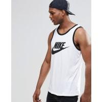 NikeAce-Logo Singlet In White 779234-100 - White