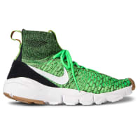 NikeAir Footscape Magista Flyknit High-top Sneakers - Bright green