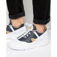 NikeAir Huarache Utility Premium Sneakers In White 806979-100 - White