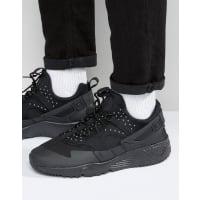 NikeAir Huarache Utility Sneakers In Black 806807-004 - Black