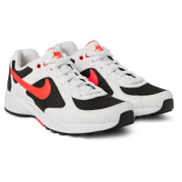 NikeAir Icarus Suede, Mesh And Leather Sneakers - White