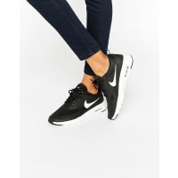 NikeAir Max Thea Sneakers In Black And White - Black