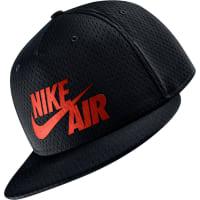 NikeAir Pivot True Snapback negro rojo