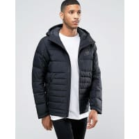 NikeAV15 Hooded Jacket In Black 806855-010 - Black