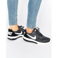 NikeMd Runner Sneakers In Black And Grey - Black