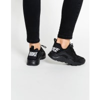 NikeBlack Air Huarache Run Breathe Sneakers - Black