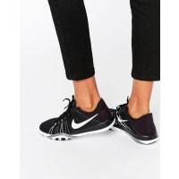 NikeBlack And White Free Tr6 Sneakers - Black