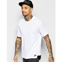 NikeBonded Knit T-Shirt In White 805122-100 - White